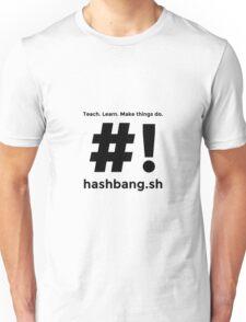 Hashbang.sh - Black Unisex T-Shirt