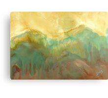 Sun Mountain Canvas Print