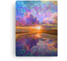 Colorful Sunset by Jan Marvin Canvas Print