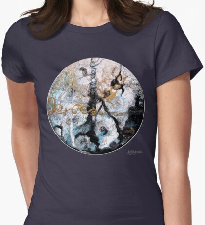Heaven Within Womens Fitted T-Shirt