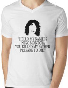 Inigo Montoya - Princess Bride Mens V-Neck T-Shirt