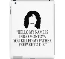 Inigo Montoya - Princess Bride iPad Case/Skin