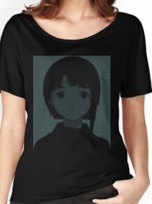 Lain ASCII - Inverted Women's Relaxed Fit T-Shirt