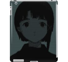 Lain ASCII - Inverted iPad Case/Skin