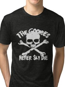 The Goonies Never Say Die Tri-blend T-Shirt