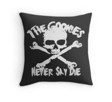 The Goonies Never Say Die Throw Pillow