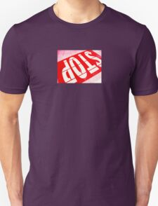 Stop In Red T-Shirt