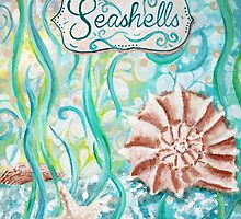 Seashells II by Jan Marvin by Jan Marvin
