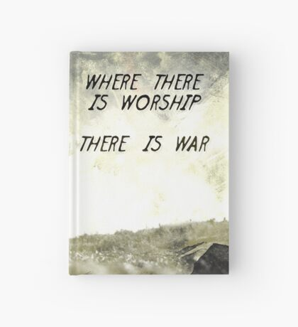 Where there is worship... Hardcover Journal