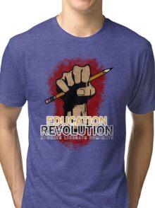 Education Revolution Tri-blend T-Shirt
