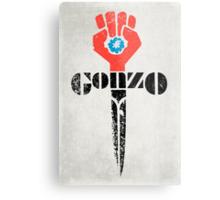 Gonzo Fist Metal Print