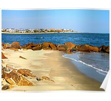Rocky Beach by Jan Marvin Poster