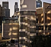 Light and Shadow on the Sydney Convention Centre (2) by Wolf Sverak
