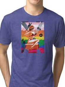 Firefly Jayne Cobb pin-up grunge Tri-blend T-Shirt