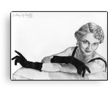 1950's Siren Canvas Print