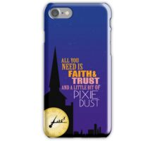 All you need is faith iPhone Case/Skin