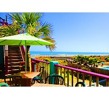 Beach View by Jan Marvin Photographic Print