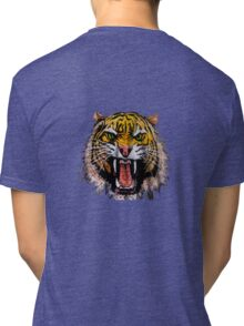 Tekken - Heihachi Tiger Tri-blend T-Shirt