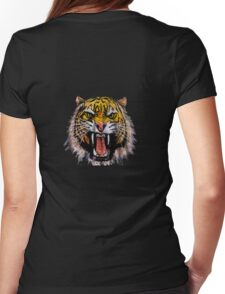 Tekken - Heihachi Tiger Womens Fitted T-Shirt