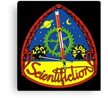 Scientifiction Science Fiction Canvas Print