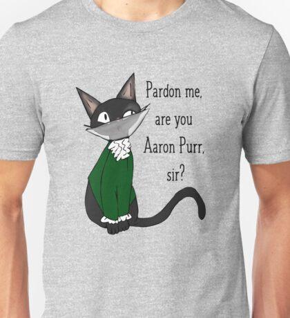 Aaron  Purr, sir Unisex T-Shirt