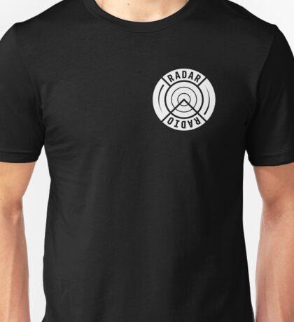 RADAR RADIO FRONT CORNER / BLACK - GRIME Unisex T-Shirt