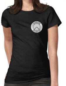 RADAR RADIO FRONT CORNER / BLACK - GRIME Womens Fitted T-Shirt