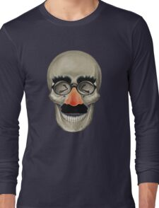 Died Laughing - Skull Long Sleeve T-Shirt