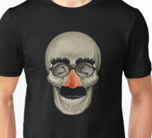 Died Laughing - Skull Unisex T-Shirt