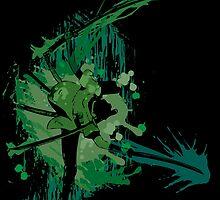 Splatter Swordsman by PioMateo