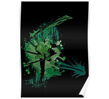 Splatter Swordsman Poster