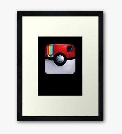 Pokegram - An Instagram & Pokemon Mash App Framed Print