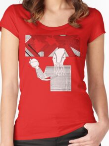 Ood in the Snow Women's Fitted Scoop T-Shirt