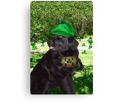 ¸¸.•*¨* I TELL U ITS NOT THE BEER.. I'M SEEING LITTLE GREEN MEN ¸¸.•*¨* Canvas Print