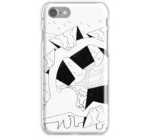 Robot Lunch iPhone Case/Skin