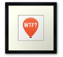 Why's this funny? Framed Print