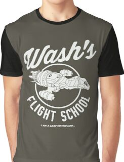 Firefly Wash's Flight School Graphic T-Shirt