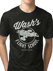 Firefly Wash's Flight School Tri-blend T-Shirt