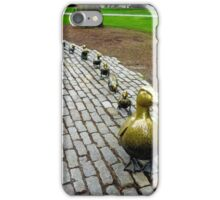Make Way for Ducklings Study 1 iPhone Case/Skin