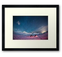 Starry Icelandic Night Sky  Framed Print