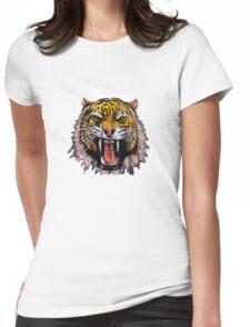 Tekken - Heihachi Mishima Style Tiger Womens Fitted T-Shirt