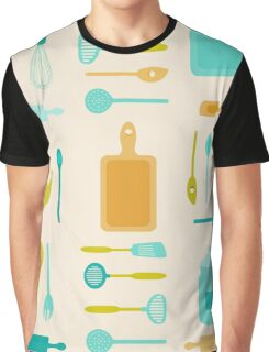 AFE Kitchen Utensils Graphic T-Shirt