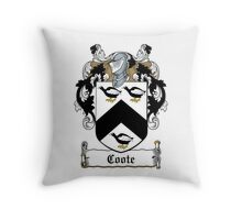 Coote (Earl of Mountrath)  Throw Pillow
