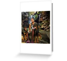 ๑۩۞۩๑ DEMIT AND HIS PRECIOUS DOGS  ๑۩۞۩๑ Greeting Card