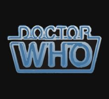 Doctor Who Classic Logo Future Black by SpyderAcidburn