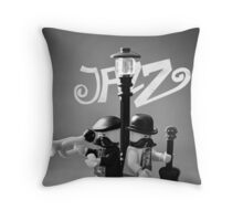 Improvisation and Harmony Throw Pillow