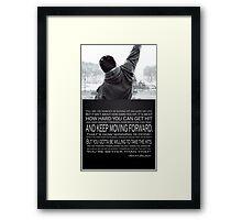 Rocky Balboa Poster Framed Print