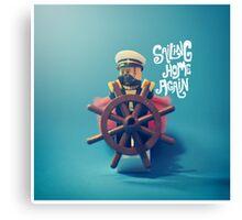 Sailing Home Again Canvas Print