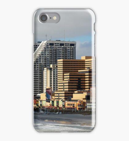High risers in Atlantic City iPhone Case/Skin