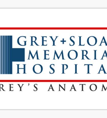 Grey Sloan Memorial Hospital - Grey's Anatomy Sticker